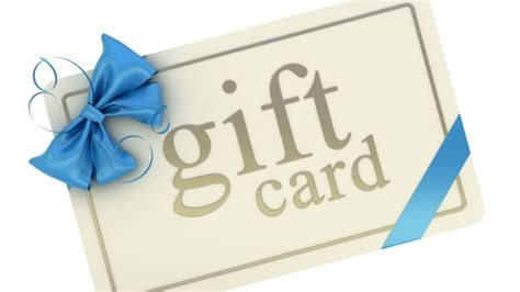 About Gift Cards - gift cards the perfect gift