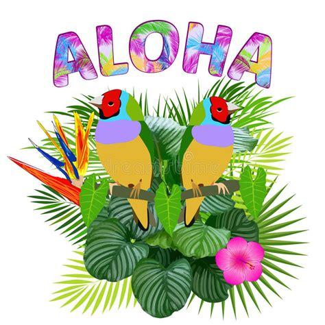 hawaiian shirt card template aloha hawaiian t shirt design stock vector illustration