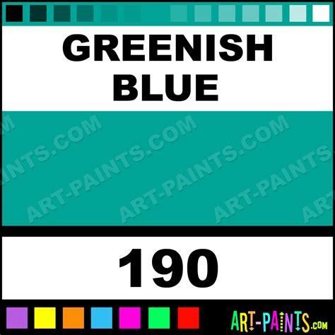 greenish blue colours acrylic paints 190 greenish blue paint greenish blue color caran d