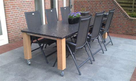 tafelblad maken voor buiten stenen tafelblad voor buiten mdf lakken hoogglans