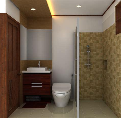 inspirasi desain kamar mandi minimalis modern desain rumah minimalis
