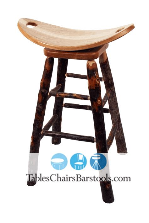 rustic hickory bar stools amish built rustic lodge hickory stick bar stool with