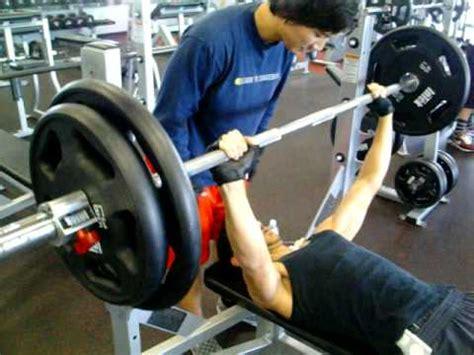 205 bench press me hitting 205 pounds on bench press youtube