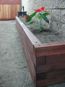 4x4 Planter Box by Terrace And Custom Wood On