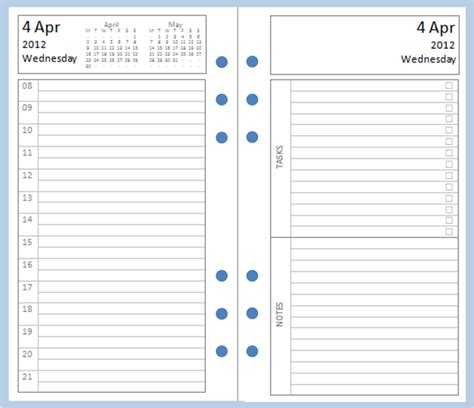 free diary template 2 pages per day calendar template 2016
