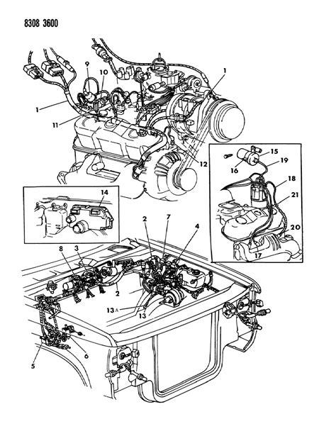 security system 1993 dodge dakota spare parts catalogs r4379581 genuine dodge powertrain control