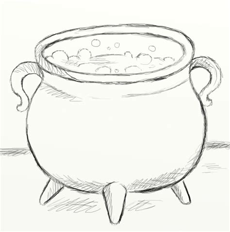 boiling water coloring page cauldron sketch images reverse search