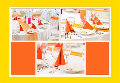 tischdeko orange barbiepink tischdeko tips
