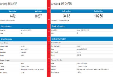 Samsung Galaxy S10 Exynos 9820 Vs Snapdragon 855 by Compare Samsung Galaxy S10 Exynos 9820 Vs Snapdragon 855 Model Specification Price