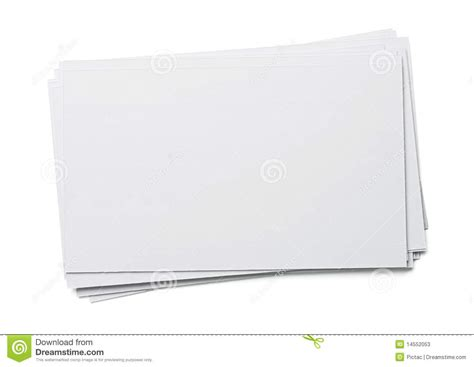 the paper studio note card templates blank index card stock photos image 14552053
