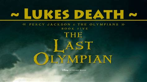 the last olympian book report percy jackson and the last olympian book lukes