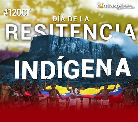 imagenes sobre resistencia indigena venezuela venezuela conmemora el d 237 a de la resistencia ind 237 gena