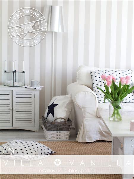 Wandgestaltung Ideen 4809 by Villa Vanilla W 228 Nde Tapeten Wohnzimmer