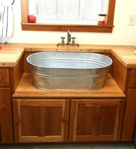 Dekor Laundry Sink by Galvanized Laundry Sinks For Farmhouse Laundry