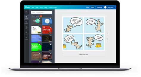 contoh dialog png membuat komik online dengan 100 contoh desain canva