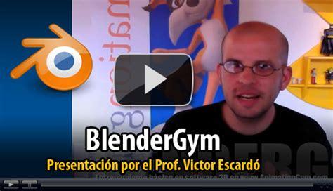 Blender Las Victor curso animacion 3d blender previo al comienzo de
