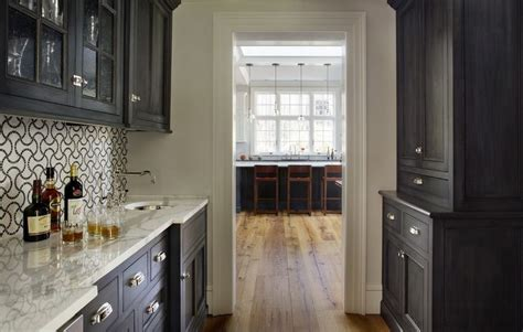 small black cabinets kitchen home decorating trends