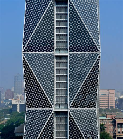 contemporary curtain wall architecture kris yao artech employs dynamic geometries in china steel hq