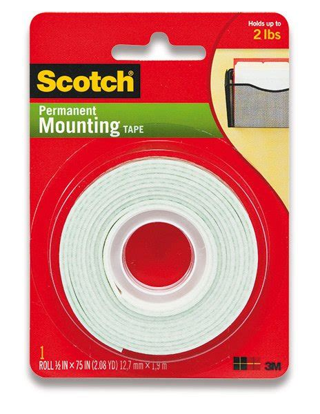 Scotch 3m Mounting 12 Mm X 3m oboustrann 225 p茆nov 225 p 225 ska 3m scotch mounting 12 mm x