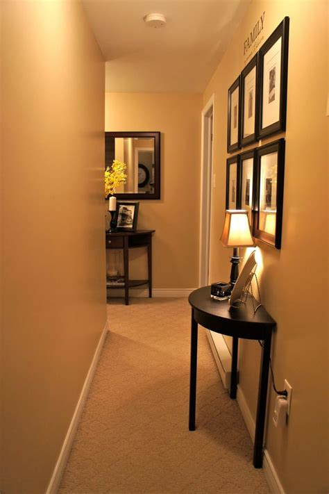 Narrow Entryway | 25 best ideas about narrow hallway decorating on