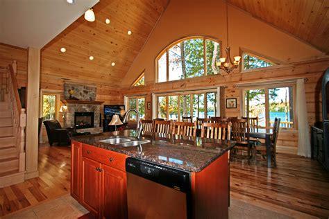 confederation log timber frame homes  showcase