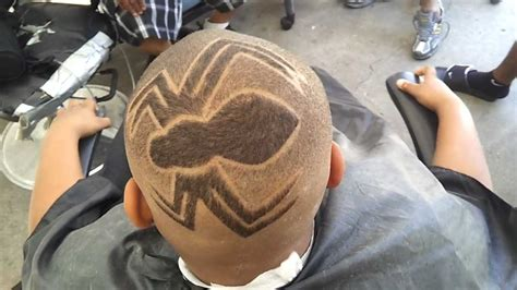 haircut designs spider web you must see this fresh ass spider haircut