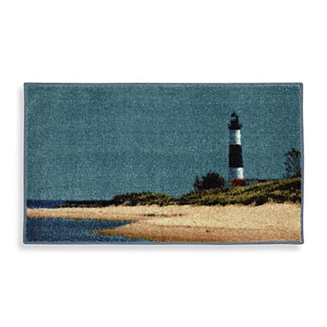 lighthouse bathroom rugs lighthouse accent rug bed bath beyond