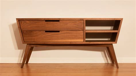 modern credenza designing and building a modern credenza woodworking