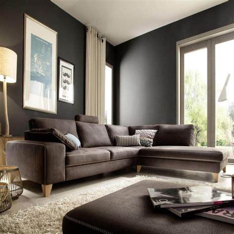 Gelbe Und Braune Wohnzimmer Ideen by Die Besten 17 Ideen Zu Braunes Sofa Auf
