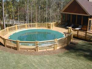Above Ground Pool Deck Ideas Pictures Pool Design Ideas Above Ground Swimming Pool Deck Designs