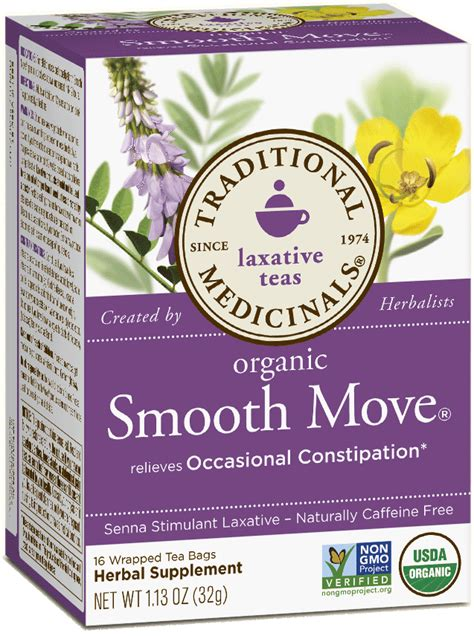 Detox Tea Smooth Move by Smooth Move 174 Traditional Medicinals