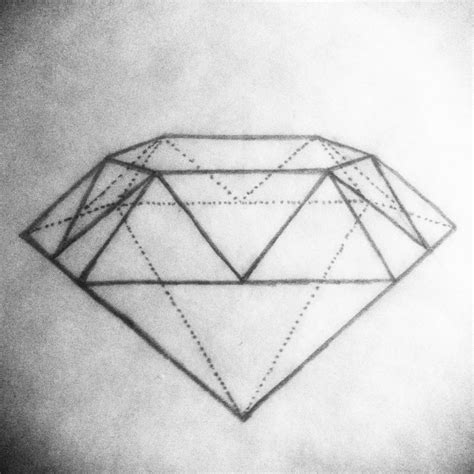 tattoo diamond drawing drew this up want to get this diamond tattoo drawing