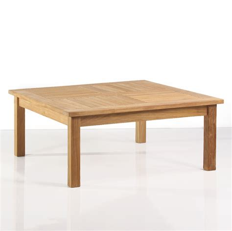 Outdoor Teak Table by Classic Teak Outdoor Square Side Table Outdoor
