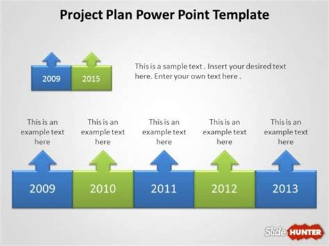 Project Presentation Template free project plan powerpoint template