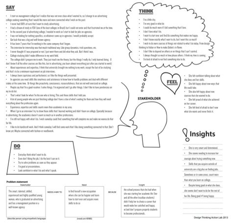 design thinking interview questions empathy map interview design thinking stanford assignment