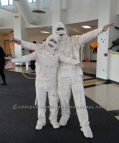 Coolest Handmade Costumes - best mummies