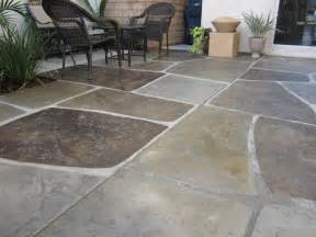 colored concrete sted and colored concrete quot imported quot patio