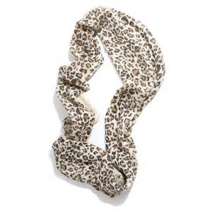 leopard print snood scarf accessoryo
