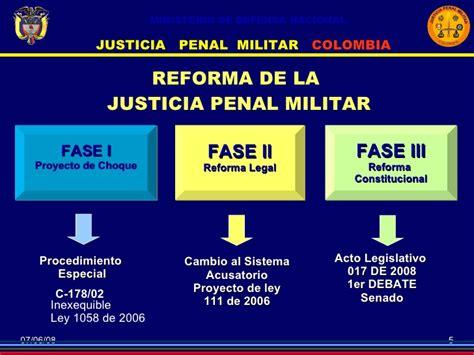 imagenes justicia penal militar conferencia nuevo codigo penal militar