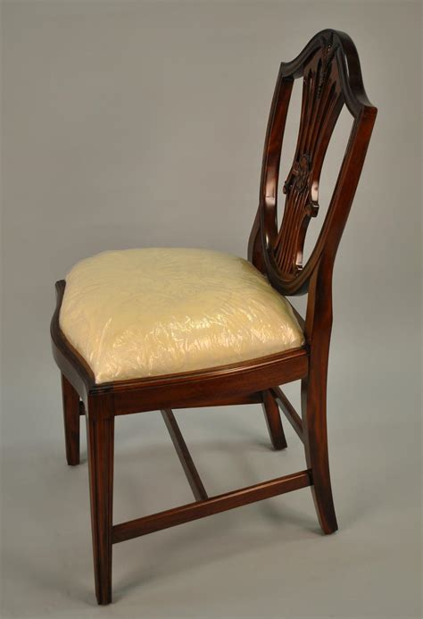 shield back dining room chairs small vintage size shield back dining room chairs solid mahogany