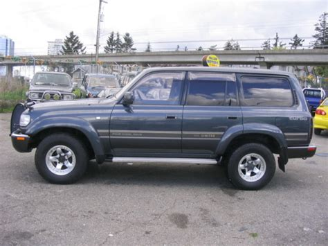 L Toyota Landcruiser Vx80 1997 2000 silk road autos delica and hiace importer vancouver bc canada toyota hiace and