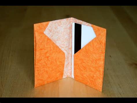 Carte Origami - origami porte cartes cards holder senbazuru
