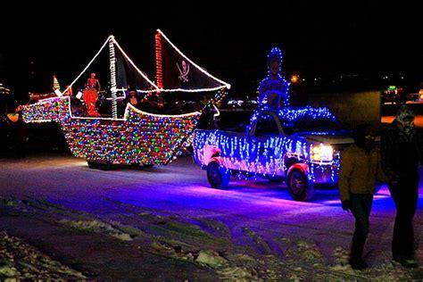 treasure valley night light parade in caldwell