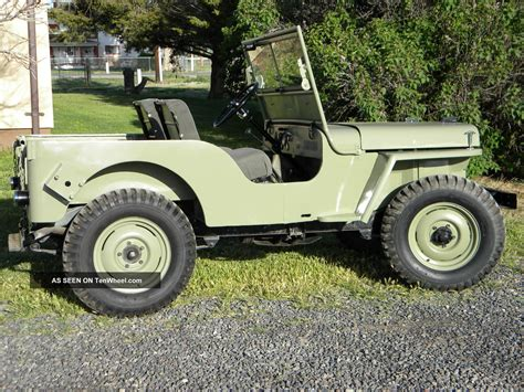 1948 Jeep Willys 1948 Willys Jeep Cj 2a Frame