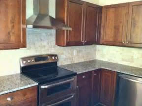 Houzz Kitchens Backsplashes Ivory Tile Backsplash Traditional Kitchen Atlanta By Cr Home Design K B Construction