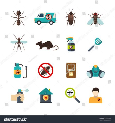 home pest expert exterminator service stock vektor