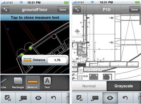 dwg format iphone autocad ws iphone ipad ipod app lets you view edit and