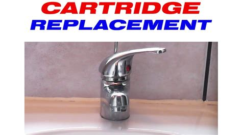 How to replace the cartridge in a mixer tap   YouTube