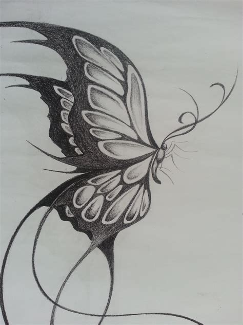 side view butterfly tattoo designs original design of a large butterfly things i like