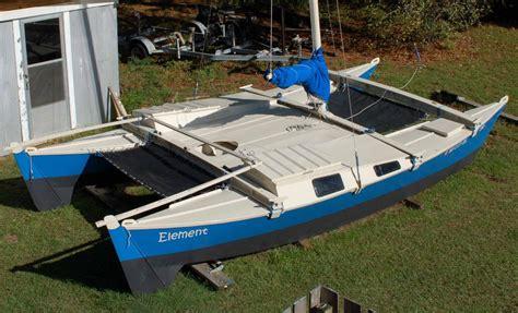 element a wharram tiki 21 catamaran october 2006